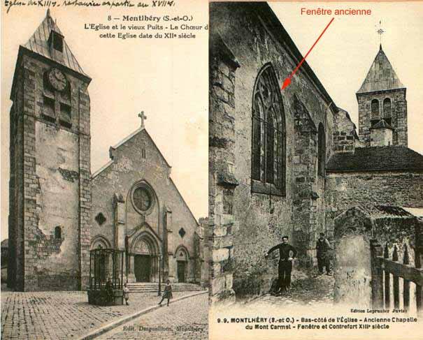 L'église paroissiale de la Sainte Trinitéà Montlhéry (partie 1) # Fongecif Bois Guillaume
